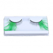 False Eyelashes,Clode® 1 Pair Fancy Makeup Handmade Messy Cross Long Feather False Eyelashes for Christmas Cosplay Dance Party Halloween Costume