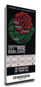 NCAA 2011 Rose Bowl Game Mega Ticket