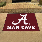 "University of Alabama Man Cave All-Star Rug 90cm ""x 45"""""