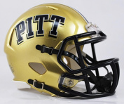 NCAA Pittsburgh Panthers Speed Mini Helmet, Small, Gold
