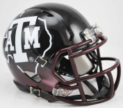 Texas A & M Aggies Replica Speed Mini Helmet - Black