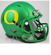 Oregon Ducks Apple Green Riddell Speed Mini Football Helmet