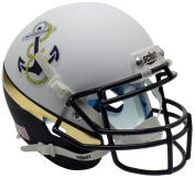 NCAA Navy Midshipmen WH Mini Helmet, One Size, White