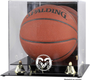 Colorado State Rams Golden Classic Basketball Display Case with Mirror Back - Fanatics Authentic Certified