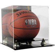 Deluxe Acrylic Basketball Display Case with Mirror Back
