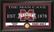 NCAA Mississippi State Bulldogs Coin Panoramic Photo Mint, 60cm x 38cm x 10cm , Bronze