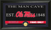 NCAA Mississippi Old Miss Rebels Coin Panoramic Photo Mint, 60cm x 38cm x 10cm , Bronze