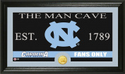 NCAA North Carolina Tar Heels Man Cave Coin Panoramic Photo Mint, 60cm x 38cm x 10cm , Bronze