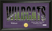 NCAA Kansas State Wildcats Coin Panoramic Photo Mint, 60cm x 38cm x 10cm , Bronze