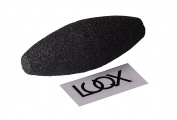 Luqx - Lava Pumice Sponge Flexible - Flexible Pumice (Flexible) Foot File For Removal Of Calluses Hands and Feet