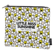 Little Miss Sunshine Laughing Daisies Pouch