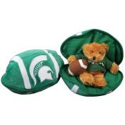 Michigan State Spartans Stuffed Bear in a Ball - Football