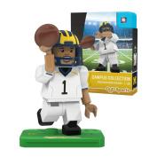 NCAA Michigan Wolverines OYO Campus Collection Gen 2 Minifigure, Small, Black