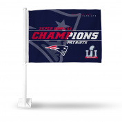 NFL New England Patriots Super Bowl LI Champs Car Flag
