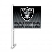 NFL Oakland Raiders Ombre Car Flag , One Size, Team Colour