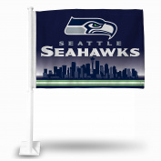 Seattle Seahawks Rico Industries Car Flag