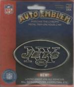 New York Jets NFL Gold Auto Emblem