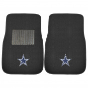 FANMATS 10316 NFL Dallas Cowboys 2-Piece Embroidered Car Mat