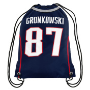 NFL New England Patriots Rob Gronkowski #87 Double Sided Drawstring Backpack
