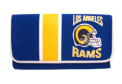 Los Angeles Rams Ladies Mesh Trifold Organiser Clutch Wallet