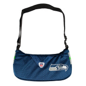 NFL Seattle Seahawks Jersey Team Purse, 12 x 7.6cm x 18cm , Blue