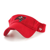 NFL Tampa Bay Buccaneers '47 Clean Up Adjustable Visor, Red, One Size