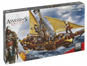Mega Bloks Collector Construction Set - Assassin's Creed Gunboat Takeover - 580 Piece Toy Playset
