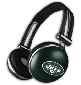 IHIP NFLHP28NYJ NFL The Noise Headphones
