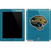 NFL Jacksonville Jaguars iPad 2 Skin - Jacksonville Jaguars Distressed Vinyl Decal Skin For Your iPad 2