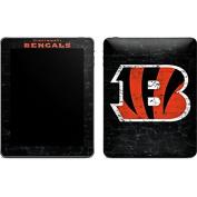 NFL Cincinnati Bengals iPad Skin - Cincinnati Bengals - Distressed Vinyl Decal Skin For Your iPad
