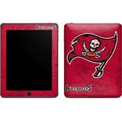NFL Tampa Bay Buccaneers iPad Skin - Tampa Bay Buccaneers Distressed Vinyl Decal Skin For Your iPad