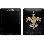 NFL New Orleans Saints iPad Skin - New Orleans Saints Distressed Vinyl Decal Skin For Your iPad