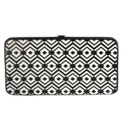 Buckle Down Women's Aztec Print Hinged Card Case Wallet