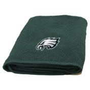 Northwest 1NFL929000011WMT Philadelphia Eagles NFL Applique Bath Towel NFL 929 Eagles Applique Beach Towel