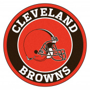 FANMATS 17681 NFL Cleveland Browns Roundel Mat
