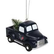 Houston Texans Truck With Tree Ornament