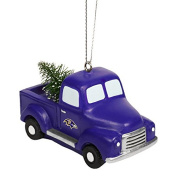 Baltimore Ravens Truck With Tree Ornament