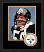 NFL Pittsburgh Steelers Logo Mat Picture Frames, Black, 33cm x 41cm