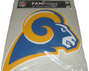 Los Angeles Rams Throwback NFL Football Official 3D Foam Logo Wall Sign