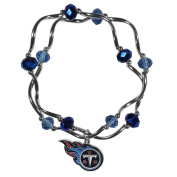 NFL Tennessee Titans Womens Crystal Bead Bracelet