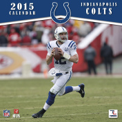 Turner Perfect Timing 2015 Indianapolis Colts Mini Wall Calendar