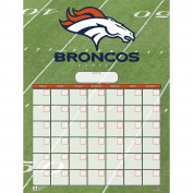 Turner Perfect Timing Denver Broncos Jumbo Dry Erase Sports Calendar