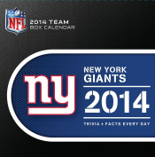 Turner - Perfect Timing 2014 New York Giants Box Calendar