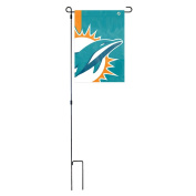 Party Animal Officially Licenced NFL Bold Logo Garden Flag and Stand
