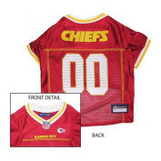 KANSAS CITY CHIEFS Dog Pet Jersey ★ ALL SIZES ★ Licenced NFL