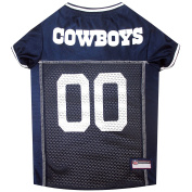 Pets First NFL Dallas Cowboys Jersey, XL