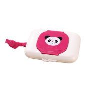Lalang Cartoon Portable Baby Wet Tissue Box Travel Wipes Case For Baby