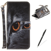 Samsung Galaxy S8 Plus Case,MAGQI Samsung Galaxy S8 Plus Leather Case,Wild Animals Series Pattern Premium Slim Fit Flip PU Wallet Cover with Colourful Detachable Hand Strap [Stand Function][Cash and Card Slots] Magnetic Folio Notebook style Skin Cover ..