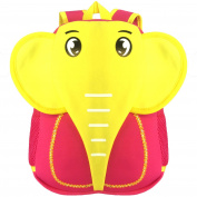 TOSKATOK® KIDS FUN PRACTICAL NEOPRENE ANIMAL SCHOOLBAG TRAVEL BACKPACK-ELEPH