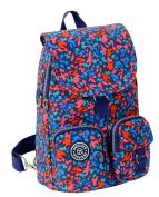 Fansela(TM) Leisure Waterproof Nylon Backpack School Daypack Multicolor Blue